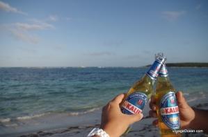 Bière locale savourée en fin de journée