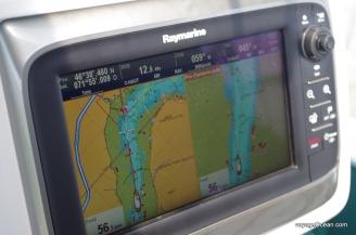 Nous avons même fait une pointe à 12,8 dans les rapides de Richelieu!
