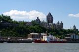 Arrivée au Port de Québec